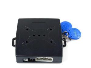 Car Alarm with Engine Button-Start