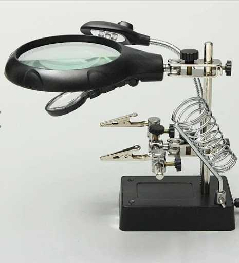 Auxiliary AC/DC Clip Magnifier