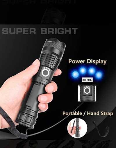 Rechargeable Super Torch Q-5110