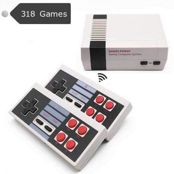 Retro TV Game Console