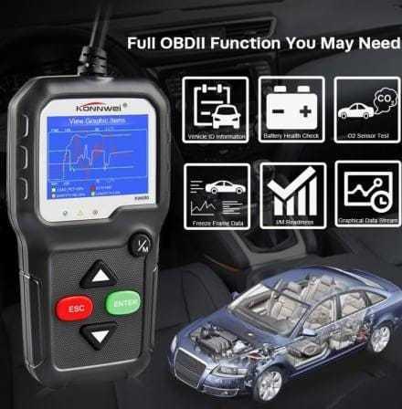 OBDII/EOBD Code Reader KW680