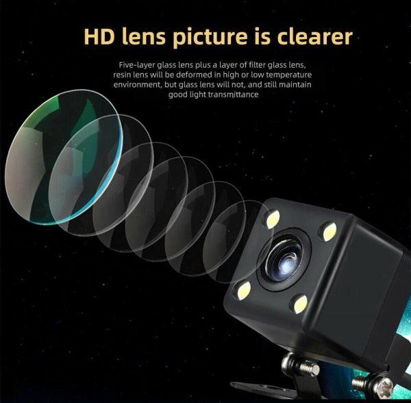 Waterproof 170° Car Rear View Reverse Backup Parking Camera HD Night Vision E
