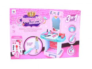 27-Piece 3 In 1 Charming Jewellery Table