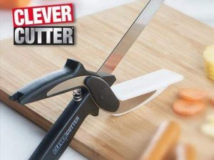 Clever Cutter – Kitchen Scissors with Cutting Board