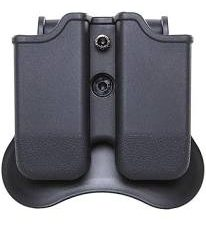 Double Magazine Pouch with Paddle