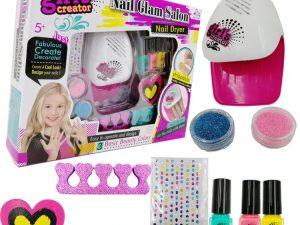 Fabulous Nail Glam Salon – Girl Nail Polish kit