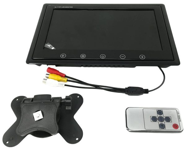 10.1 Inch TFT LED HD Digital Display Monitor with Remote Control