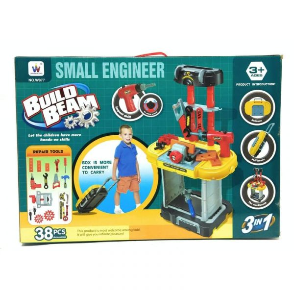 Small Engineer Build Beam