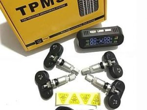 Tyre Pressure Monitoring System – TPMS 2-way Rechargeable Solar Display