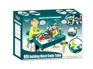 Building Block Study Table Multi Activity Table Set