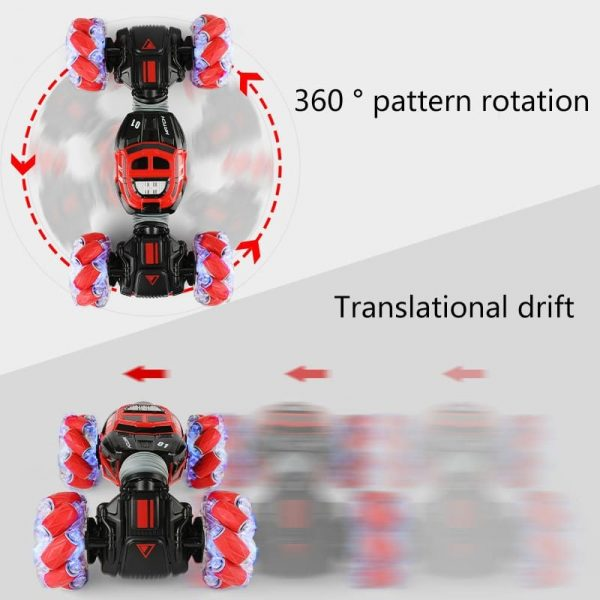 Gesture Sensing Drift RC Car