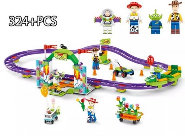 Toys Story 4 Carnival Thrill Coaster